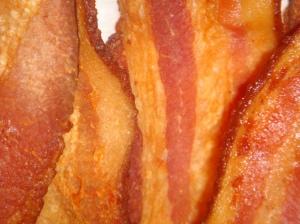 Crispy Benton\'s bacon.