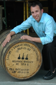Dave with the barrel